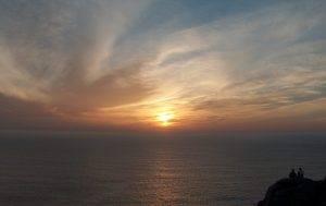 Sonnenuntergang bei Fisterra