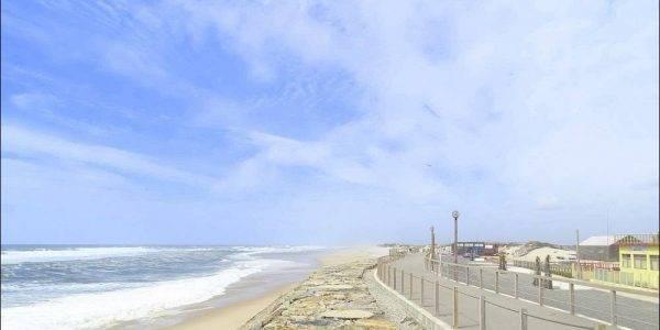 Auf der Strandpromenade geht es Richtung Norden