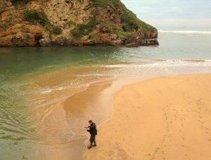 Fischer auf dem Cmaino del Norte