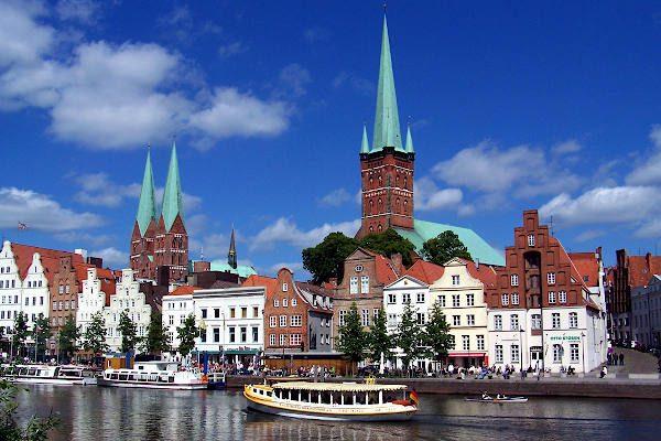 Lübeck von der Trave