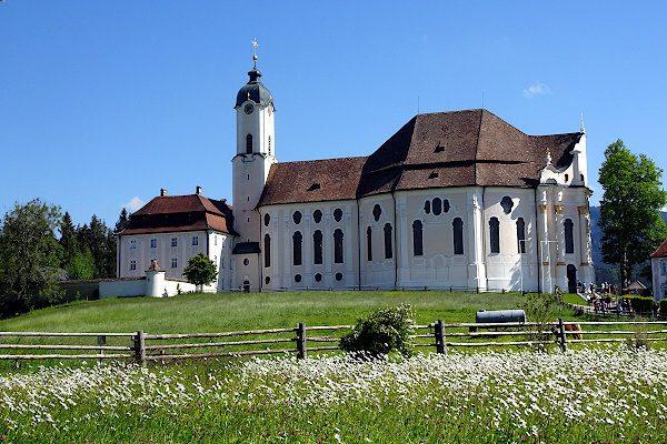 Die berühmte und wirklich wunderschöne Wieskirche