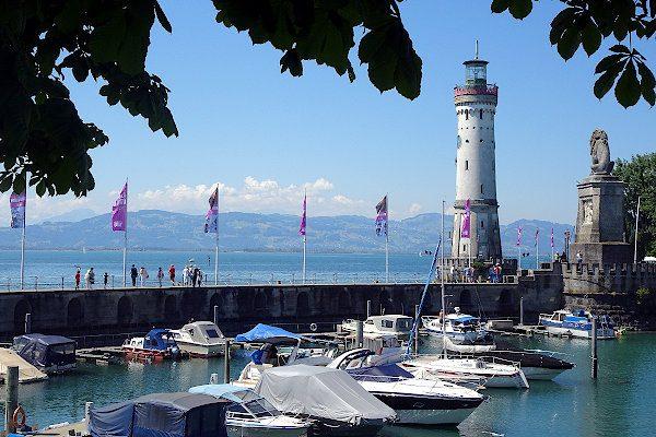 Sportboothafen von Lindau