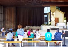 Auch und gerade in Coronazeiten wird gebetet.
