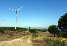Auf dem Höhenweg Richtung Leiria