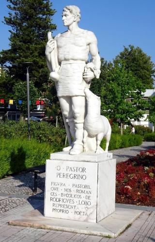 Denkmal für den pilgernden Hirten