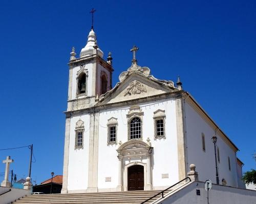 Dorfkirche von Amor (Das Dorf heißt wirklich so.)