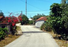 Wunderschöne Dorfwege.