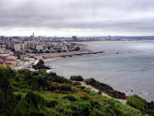 Abschiedsblick von oben auf Figueira da Foz.