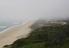 Eigentlich hat man von hier einen großartigen Blick auf Praia de Quiarios.