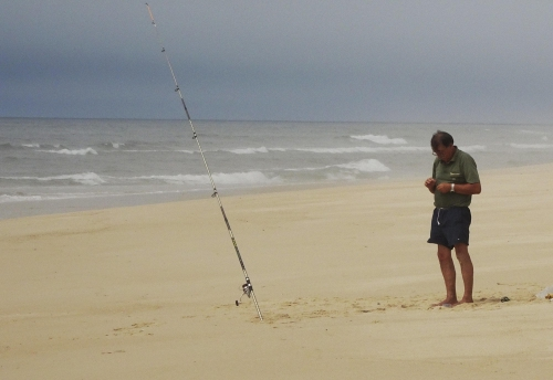 Angler Nr. 3: Der Betende.