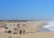 Abstand halten kein Problem bei so viel Strand