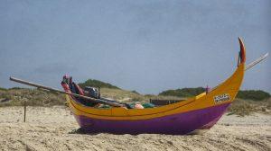 Traditionelles Fischerboot noch in Benutzung