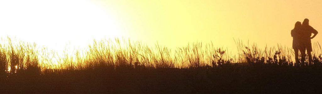 Auf dem Weg zum Sonnenuntergang