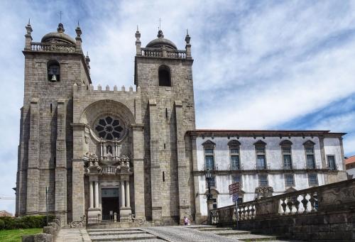 Am Ziel dieses Jakobsweges: Die Kathedrale von Porto.