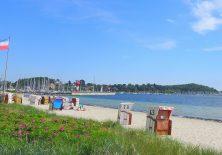 Abschied vom Strand in Eckernförde