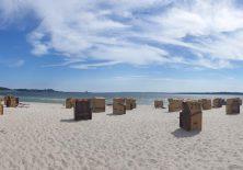 Der Strand von Eckernförde