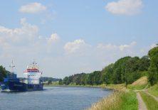 Pilgern am Nord-Ostsee-Kanal