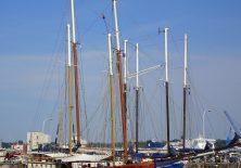 Historische Segelschiffe im Kieler Hafen