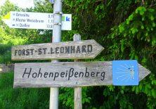 Wegweiser hinter Wessobrunn. Alles klar?
