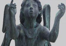 Engel auf dem Friedhof der Steingadener Klosterkirche