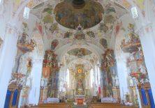 Barocker Innenraum der St. Martin-Kirche