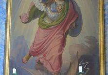 Der Heilige Michael tötet alle Drachen, die uns bedrohen.