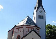 Endlich: Die Kirche von Weitnau