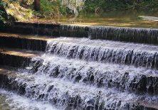 Wasserfall am Jakobsweg