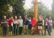 Gruppenfoto am nächsten Morgen in Scheidegg