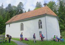 Die Ulrichs-Kapelle am Pfänder-Weg