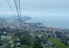 Blick auf Bregenz aus der Seilbahn