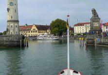 Mit dem Schiff nach Lindau