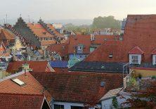 Blick von unserer Dachterrasse aus