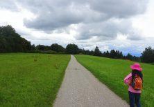 Bedrohliche Wolken auf dem Jakobsweg