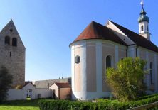 Angekommen am Kloster Wessobrunn