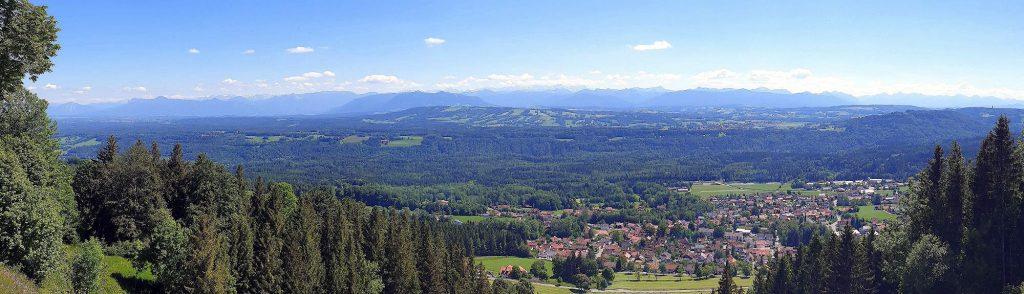 Blick vom Hohen Peißenberg